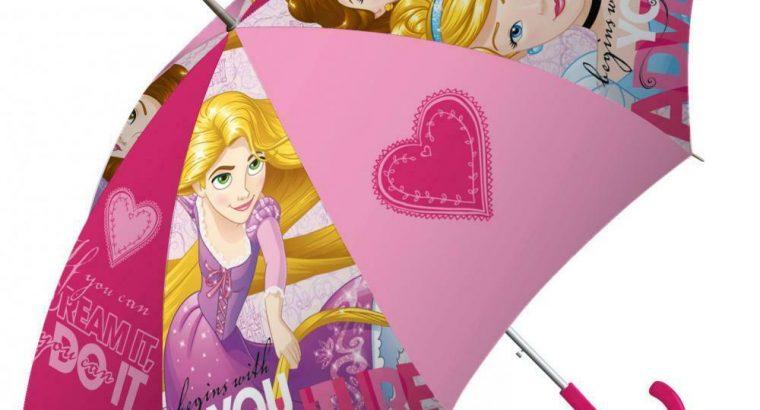 Princesses Disney Umbrella Pink Diam 72 CM 3/7 Yea