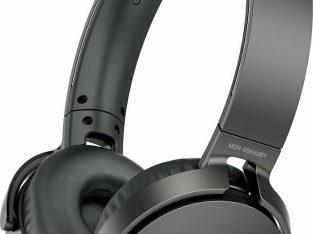 Sony XB650BT Wireless On-Ear Bluetooth Headphones,