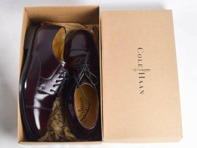 Cole Haan Mens 7.5 Leather Dress Shoe Oxford Brogu