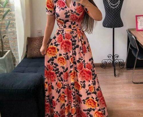 Sundress long dress floral maxi cocktail evening p